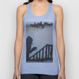 Up the Stairs Unisex Tank Top