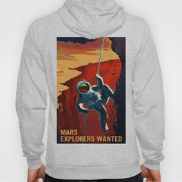 NASA Recruitment Poster Explorers Wanted Hoody