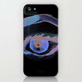 Brown eye iPhone Case