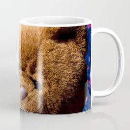 Stuffed Animal Teddy Bear Portrait Coffee Mug