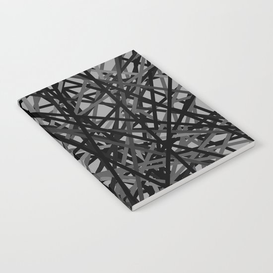 Kerplunk Extended Black and White Notebook