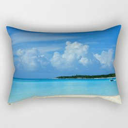 One More Day in The Paradise Rectangular Pillow