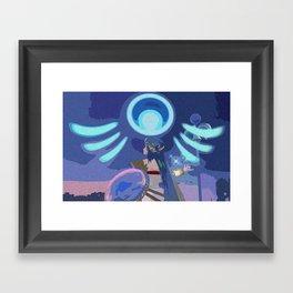 A Little Divine Intervention Framed Art Print