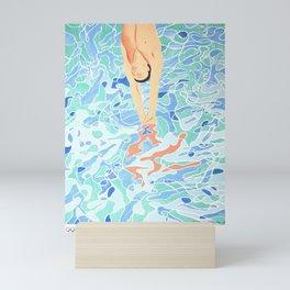 Munich Olympic Diver Poster by David Hockney - 1972 Olympics Mini Art Print