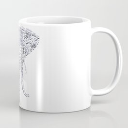 My Spirit Animal is an Elephant Coffee Mug