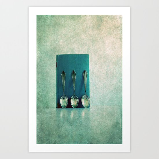 old spoon Art Print
