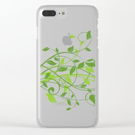 Leaves PNG Clear iPhone Case