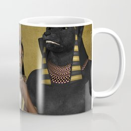 Anubis the egyptian god  Coffee Mug