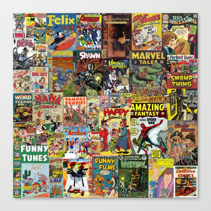 Book Cover Collage ~ Marvel comic book covers collage pixshark