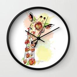 Giraswirl Wall Clock