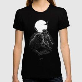 VIII. Strength Tarot Card Illustration T-shirt