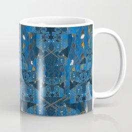 Blue Indigo Unicorn Fractal Coffee Mug