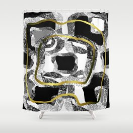 LIFE CYCLE, PASSION AND LOVE. Shower Curtain
