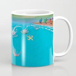 Throw stone Coffee Mug