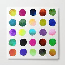 Dots and Spots Metal Print