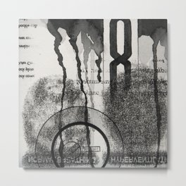 eight Metal Print