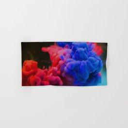 Colorful Smoke Screen Hand & Bath Towel