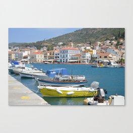 Samos ...city Canvas Print