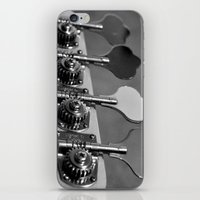 bass iPhone & iPod Skins featuring Bass by Jake Stanton
