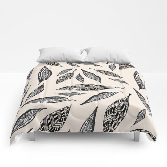 BOHO FEATHERS  Comforters