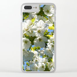 Apple Blossoms Clear iPhone Case
