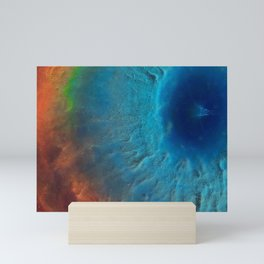Colorful space. Mini Art Print