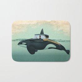The Turnpike Cruiser of the sea Bath Mat