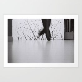 Zorba Dancer Art Print