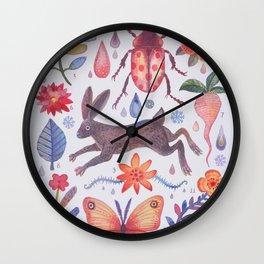 Et coloris natura V Wall Clock