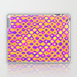 Brain Coral Pink Banded Cross Small Polyps - Coral Reef Series 029 Laptop & iPad Skin