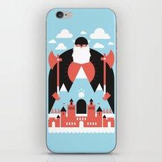 King of the Mountain iPhone & iPod Skin