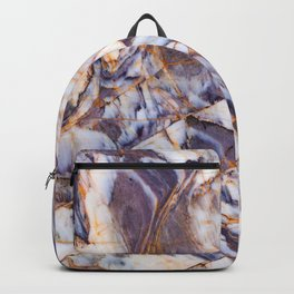 Grey marble Backpack