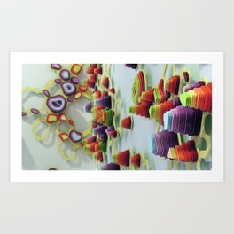Double Diddle Evisceration Art Print