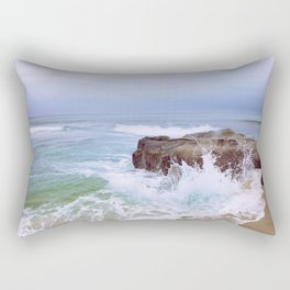 Before the Rain Rectangular Pillow