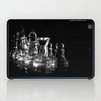 chess iPad Cases featuring CHESS by  Monochromania/Anne Seltmann