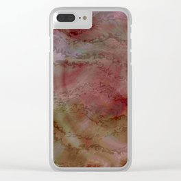 Pink Look Clear iPhone Case