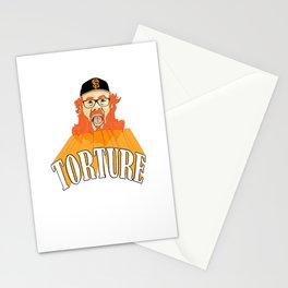 San Francisco Baseball Torture Stationery Cards