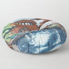 Nekobasu Catbus Floor Pillow