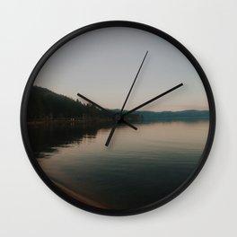 Big Bear Lake, San Bernardino County, CA Wall Clock