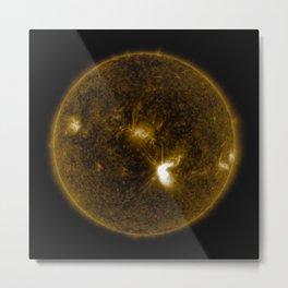 Solar Flares 3, Sept. 4, 2017 Metal Print