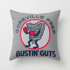 Bustin' Guts Throw Pillow