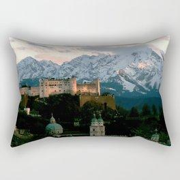 Salzburg Castle Rectangular Pillow