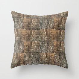 Tree Weave 1 Throw Pillow