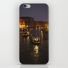 The hustle and bustle of Venice iPhone Skin