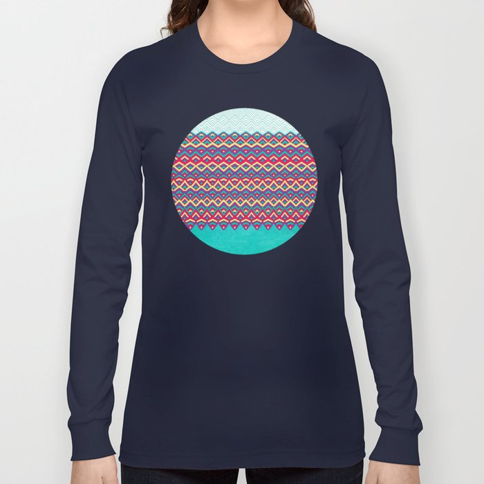 Horizons I Chevron Series Long Sleeve T-shirt