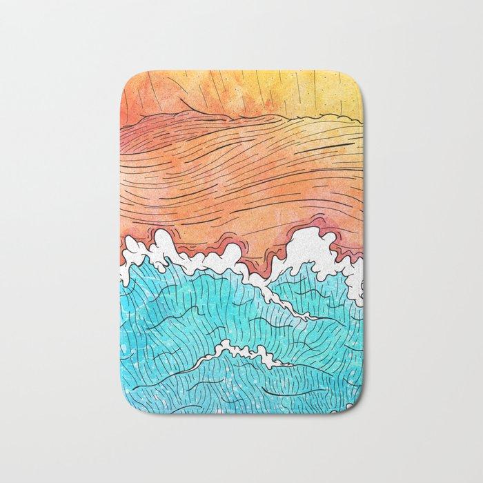 Seashore Bath Mat