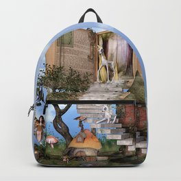 Bringing stories to life Backpack