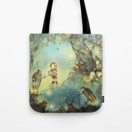 Firefly Forest Tote Bag