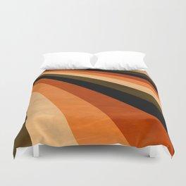 Autumn Stripes Duvet Cover
