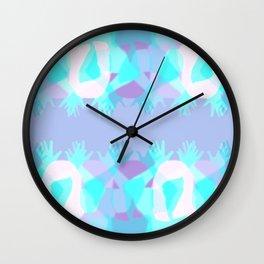 Nana-Nana-Boo-Boo Wall Clock